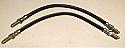 FRONT BRAKE HOSES x2 (Jensen Healey) (1972- 76)