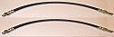 FRONT BRAKE HOSES x2 (Aston Martin DB5 DB6 DBS) (*Excluding V8*)  (1963- 72)