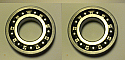 REAR WHEEL HUB BEARINGS x2 (Austin 8) (1939- 47)