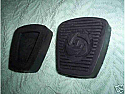 PEDAL RUBBERS x2 (Triumph Spitfire IV & 1500) (From 1970- 80)