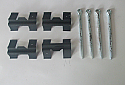 FRONT BRAKE PAD FITTING KIT - PINS & SHIMS (Triumph 2000 & 2.5 Saloon) (1964- 77)