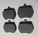 FRONT BRAKE PADS SET (Austin Morris Riley Wolseley) (1100 & 1300) (1962- Dec 67 Only)