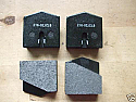 HANDBRAKE PADS (Jaguar E Type) (1961- 61) (*First 5000 Cars Only*)