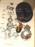 DISTRIBUTOR CAP POINTS ROTOR ARM CONDENSER (Morris Minor) (948cc & 1098cc) (From 1956- 67)