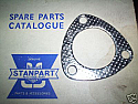 EXHAUST DOWNPIPE GASKET (Triumph TR250) (** Carb Models **) (1967- 69)