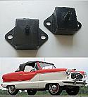 GEARBOX MOUNTS x2  (Austin Metropolitan) (1953- 61)