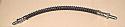 REAR BRAKE HOSES x1 (Morris Marina & Ital) (1971- 84)