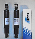 REAR SHOCK ABSORBERS DAMPERS x2 (Mini) (1959- 2001)