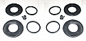 REAR BRAKE CALIPER REPAIR SEALS KITS x2 (Lotus Elan) (1963- 74)