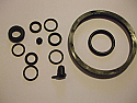 REAR BRAKE CALIPER REPAIR SEALS KIT x1 (Ford Zephyr MkIV & Zodiac MkIV) (1966- 72)
