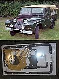 SUMP GASKET ENGINE SET (Austin Gipsy 2.2 Petrol) (1958- 68)