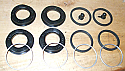 FRONT BRAKE CALIPER REPAIR SEALS KIT x1 (Volvo Amazon, P1800) (4 Pot Brakes)