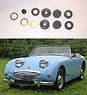 CLUTCH / BRAKE MASTER CYLINDER REPAIR SEALS KIT (Austin Healey Frogeye Sprite) (1958- 61)