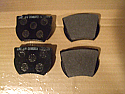 FRONT BRAKE PADS SET (Ford Cortina Mk1) (Lotus & GT) (1963- Aug 65)