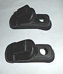 REAR WHEEL CYLINDER GAITERS x2 (Triumph Mayflower) (1949- 53)