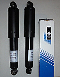 FRONT SHOCK ABSORBERS DAMPERS x2 (Mini) (1959- 2001)
