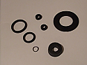 BRAKE MASTER CYLINDER REPAIR SEALS KIT (Ford Zephyr MkIV & Zodiac Mk4) (Oct 68- 72) (** With Tandem Brakes **)