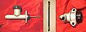 CLUTCH SLAVE CYLINDER, CLUTCH MASTER CYLINDER & CLUTCH HOSE (MGB)