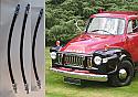 FRONT & REAR BRAKE HOSES x3 (Bedford JO) (1960- 65)