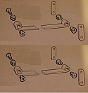 REAR SPRING EYE SHACKLE BUSHES BUSH SET x8  (Morris Oxford MO, Ser 2,3 4 & Cowley) (1949- 59)