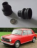 DRIVESHAFT SLIDING JOINT GAITERS x2 (BMC Austin Morris 1100 1300) (1962- 74)