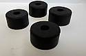FRONT TORSION BAR TIE ROD BUSHES x4 (Morris Minor) (1948- 71)
