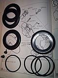 FRONT BRAKE CALIPER REPAIR SEALS KITS x2 (Morris 1800 Saloon) (** 16p Type **) (1964- 75)