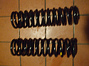 FRONT SUSPENSION ROAD SPRINGS x2 (Triumph Spitfire Mk1, Mk2 & Mk3)