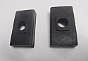 GEARBOX MOUNTS SIDE BUFFERS x2 (Wolseley 1500) (1959- 65) (** See Ch. No/ **)