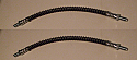 FRONT BRAKE HOSES x2 (Ford Zephyr & Zodiac Mk4) (1966- 72)