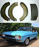 REAR BRAKE SHOES SET (Ford Capri Mk2) (3.0 Litre) (** 1974- 75 Only **)