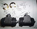 REAR BRAKE WHEEL CYLINDERS x2 (Austin Morris MG Riley VDP BMC) (1100 & 1300) (1963- 67)