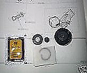 CLUTCH SLAVE CYLINDER REPAIR SEALS KIT (Austin Gipsy) (1958- 68)