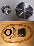 TIMING CHAIN KIT & SPROCKETS (Triumph Spitfire) (MkIV & 1500) (1970- 81)