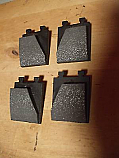 HANDBRAKE PADS (Bentley Brooklands) (1992- 98 Only)
