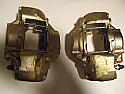 FRONT BRAKE CALIPERS x2 (Rover P6 2000, 2000TC) (1966- Jul 72)