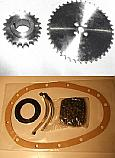 TIMING CHAIN KIT & SPROCKETS (Triumph 1300FWD Saloon) (1965- 70)