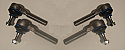 TRACK ROD ENDS SET x4 (Ford Cortina Mk1) (1962- 66)