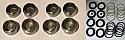 FRONT BRAKE CALIPER PISTONS & SEALS (Aston Martin DB7) (** 3.2 Only **) (1994- 99 Only)