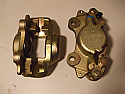 FRONT BRAKE CALIPERS x2 (Reliant Sabre 6) (1963- 64)