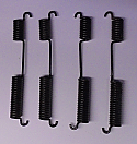 FRONT BRAKE SHOE SPRINGS x4 (Triumph Mayflower) (** From Late 1951- 53 **)