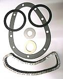 TIMING CHAIN KIT (Austin A50 Cambridge) (1500cc) (**See Eng No/**) (**1954- 55 Only**)