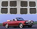 FRONT BRAKE PADS SET (Rolls Royce Corniche) (From Feb 73- 95)