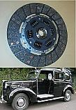 CLUTCH PLATE ONLY (Austin Taxi FX3 & FL3) (Petrol to Ch. 151282) (1948- 53 Only)