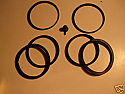 FRONT BRAKE CALIPER REPAIR SEALS KIT x1 (Vauxhall Viva HB, HC & Firenza) (Lockheed Brakes)
