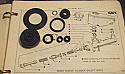 BRAKE MASTER CYLINDER REPAIR SEALS KIT (Ford Capri Mk1 1300cc) (1969- 74) (*** Tandem Brakes ***)