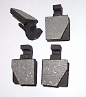 REAR HANDBRAKE PADS (Fiat 1500L 1500S 1600S) (**L&S Only. Not 1500**) (1961- 69)