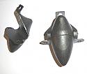 FRONT UPPER BUMP STOPS x2 (MGA) (1955- 62)
