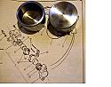FRONT BRAKE CALIPER PISTONS x2 (MG Midget) (From Oct 62- 79)