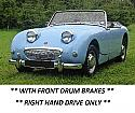 COPPER BRAKE PIPES KIT x8 (Austin Healey Frogeye Sprite) (1958- 61)